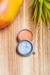 Leanna Organics CBD lip balm mango