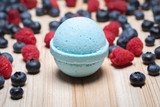 100mg CBD bath bomb berry vanilla