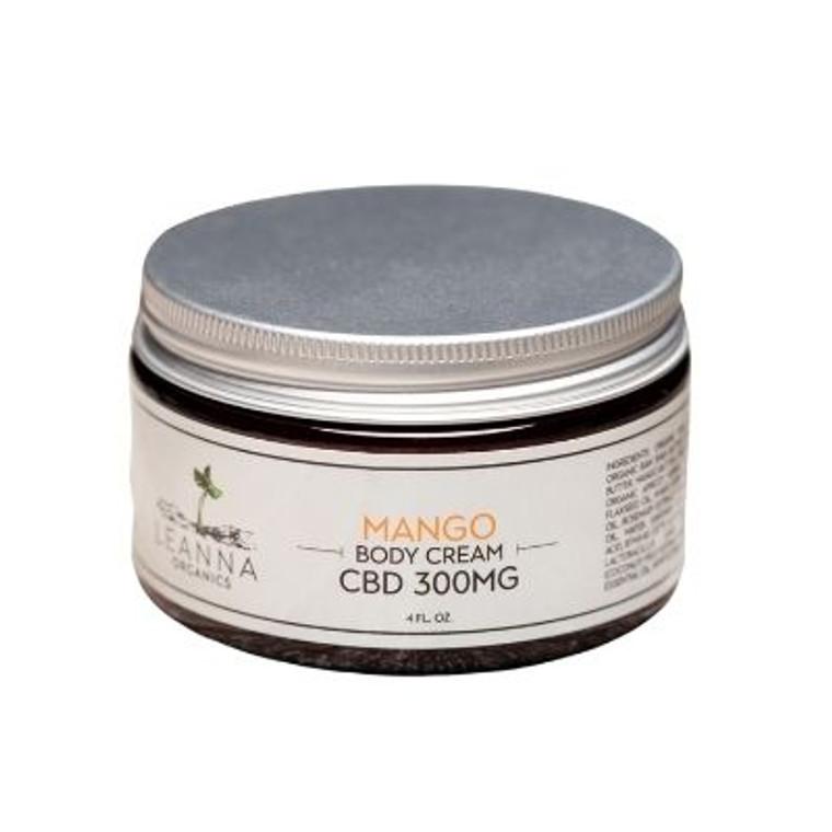 Leanna Organics CBD body cream
