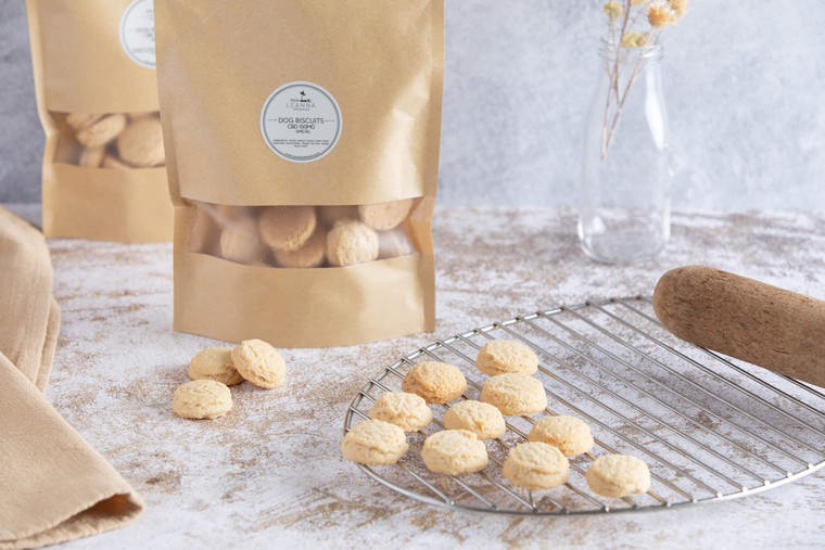 Leanna Organics CBD dog biscuits