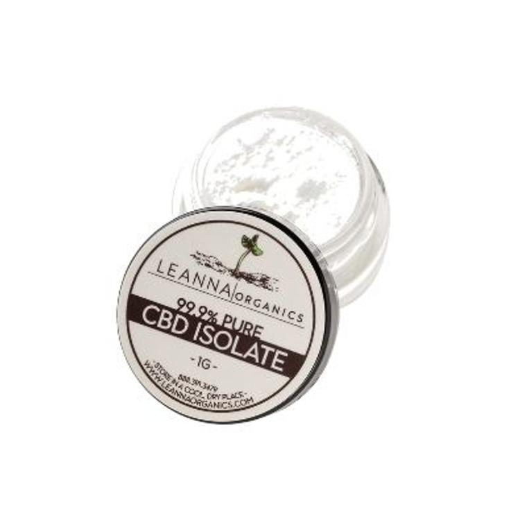 Leanna Organics CBD Isolate - 1 gram