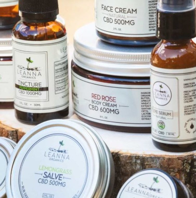 Leanna Organics CBD wholesale
