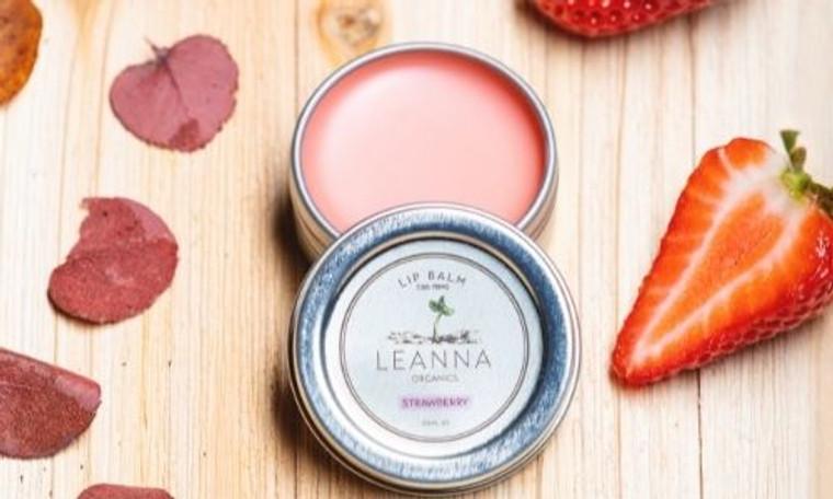 Organic CBD Lip Balm - Strawberry