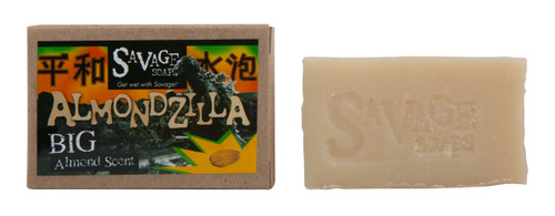 Almondzilla Savage Soap