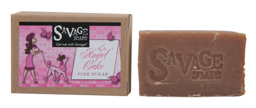 Angel Cake (Sweet Icing) Natural Handmade Soap