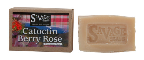 Catoctin Berry Rose (Cranberry Rose) Natural Handmade Soap