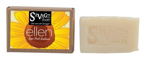 Ellen Sunflower - Natural Handmade Soap