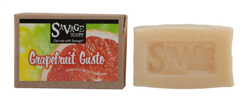 Grapefruit Gusto - Natural Handmade Soap