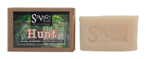 Hunt (Siberian Fir & Forest Cedarwood) Woodsy Natural Handmade Soap