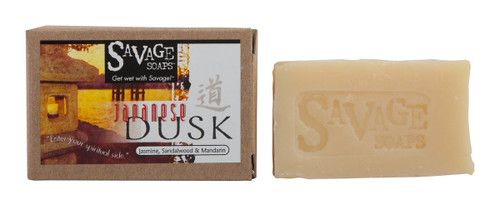 Japanese Dusk (Zen Orange Earthy Blend) Natural Handmade Soap