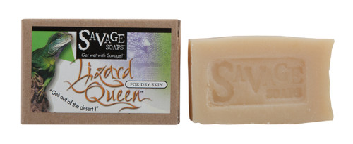 Lizard Queen (Lavender Almond) Natural Handmade Soap