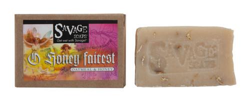 O Honey Fairest (Oatmeal) Natural Handmade Soap
