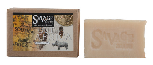 Out of Africa Musk - Natural Handmade Soap