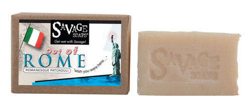 Out of Rome Patchouli - Natural Handmade Soap