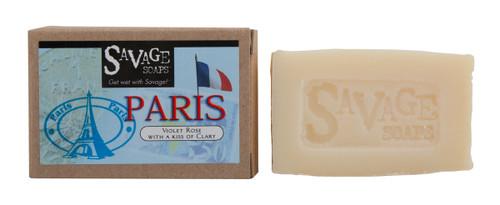 Paris Violet Rose - Natural Handmade Soap
