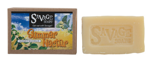 Summer Nectar - Honeysuckle Natural Handmade Soap
