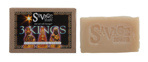 Three Kings (Frankincense Myrrh) Natural Handmade Soap