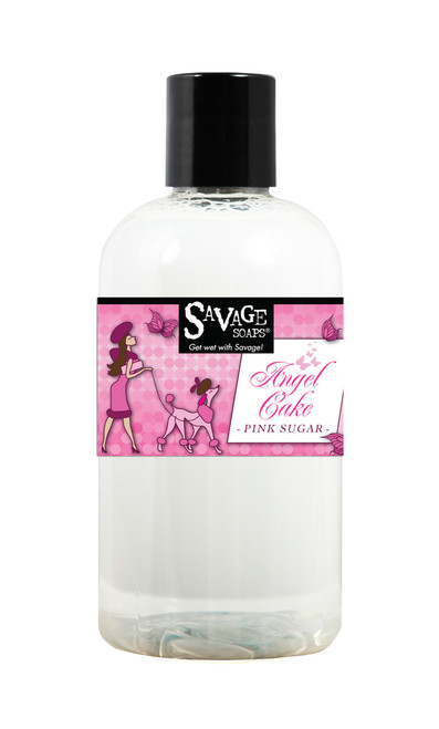 Angel Cake Shower Gel