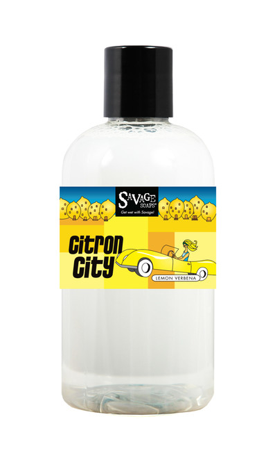 Citron City Shower Gel