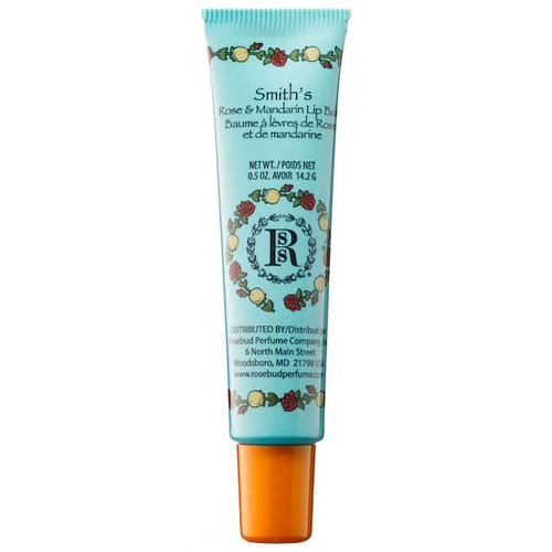 Rosebud Lip Balm Tube - Mandarin Rose