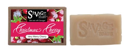Christmas Cherry - Natural Handmade Soap