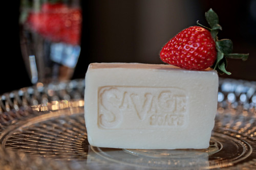 Strawberry Champagne - Natural Handmade Soap