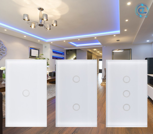 'Pearl' SMART WiFi Touch Light Switch