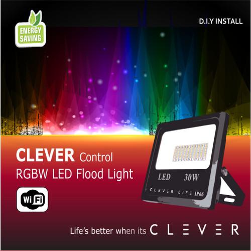 SMART WiFi RGBW LED Flood Light