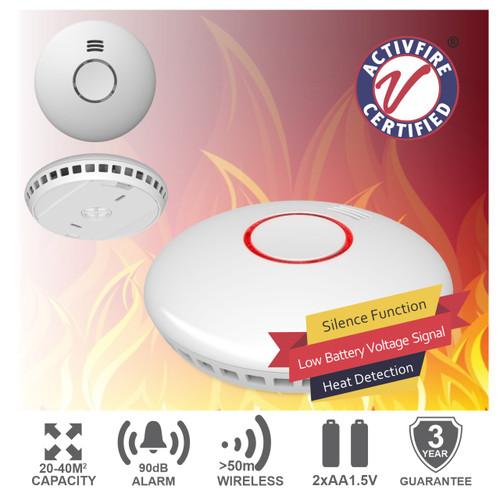 SMART WiFi Photoelectric Smoke Alarm