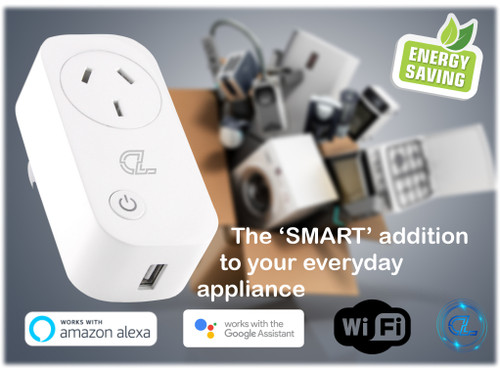 WiFi SMART Power Adaptor w/USB