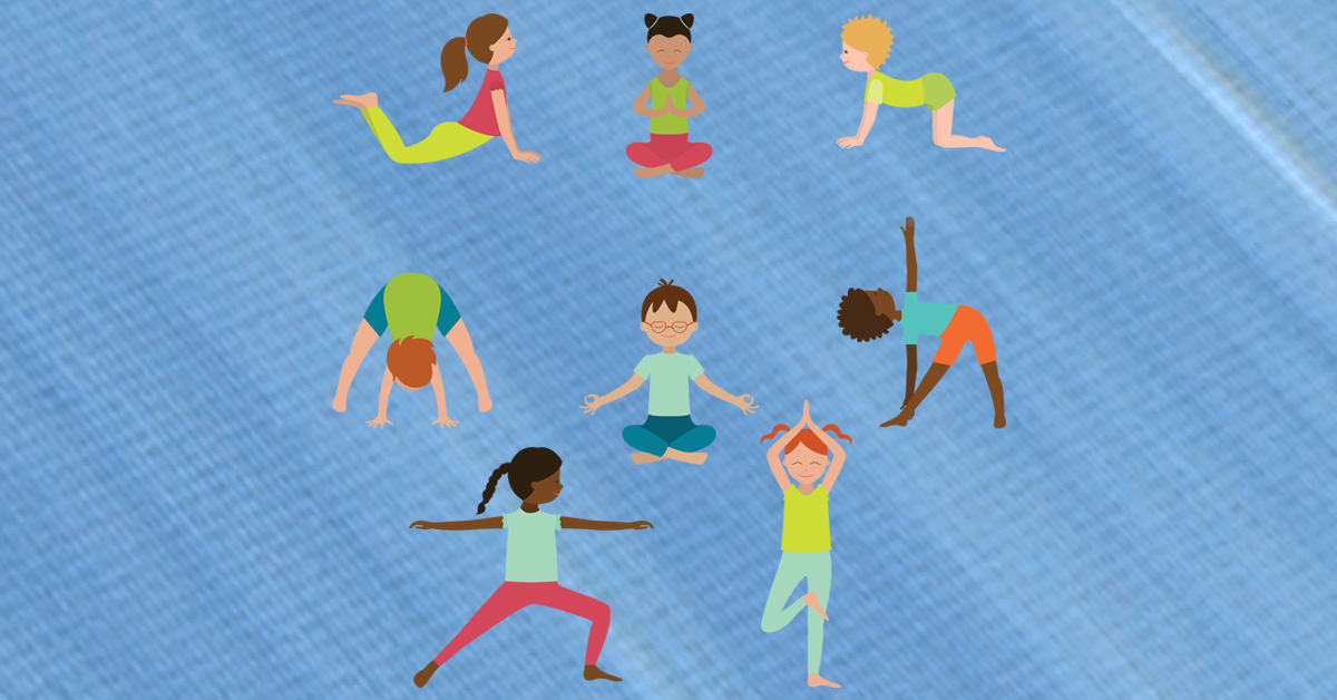 First Annual Kids Yoga Day We Sell Mats