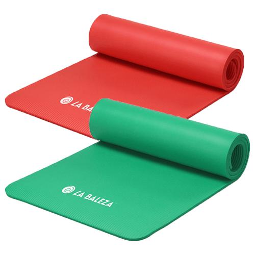 LA BALEZA midnight blue yoga mat