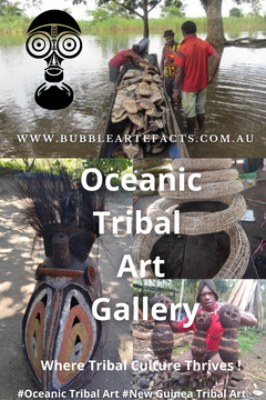 New Guinea Tribal Art and Oceanic Tribal Art - Bubble Artefacts Oceanic Tribal Art Gallery