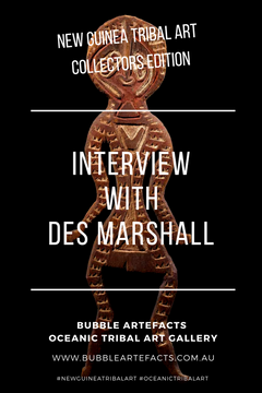 New Guinea Tribal Art - Collector Series featuring Des Marshall