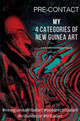 New Guinea Tribal Art Catergorisation