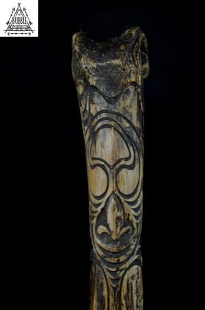 Fine Vintage Asmat Cassowary Bone Dagger