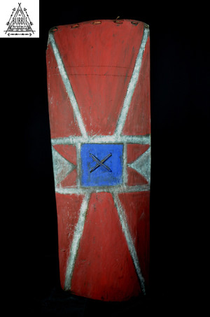 Old Western Highlands Fighting Shield, Wahgi Valley.