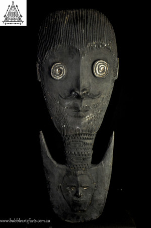 Rare Stunning Fine Guardian Spirit Hook Figure, Kandingai..