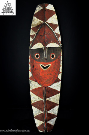 Stunning Very Large Fine Old Mindja Sculpture, Washkuk Mountains, Kwoma, Papua New Guinea, PNG
