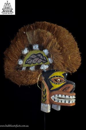 Stunning Tatanua Spirit Mask, Kavieng, New Ireland.
