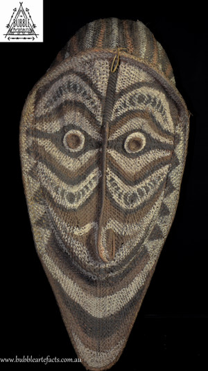 Stunning Huge Gable Mask, Kangingara Village, Blackwater River
