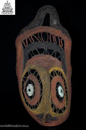 Beautiful Fine Mens Ceremonial Yam Mask, Abelam, Sepik Region