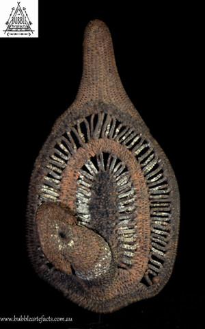 Fine Woven Ceremonial Headdress Yam Harvest Mask, Abelam, Sepik Region