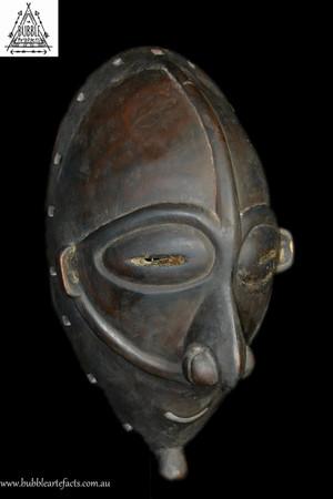 Rare Fine Vokeo Island Dance Mask, East Sepik