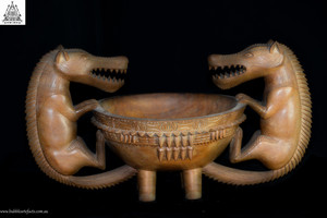 Rare Admiralty Island Tribal Bowl, Admiralty Islands