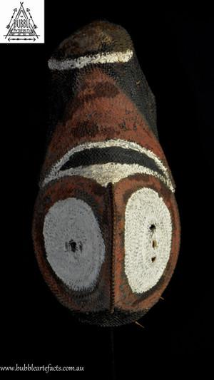 Stunning Abelam Yam Mask, Southern Abelam People, East Sepik