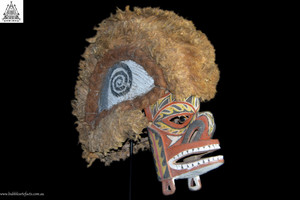 Stunning Large Tatanua Spirit Mask, Kavieng, New Ireland