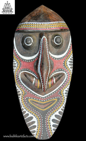 Large Washkuk Kwoma Spirit Mask, Namau Ablatar, Upper Sepik