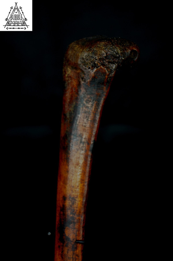 Stunning Fine Vintage Boiken Cassowary Bone Dagger