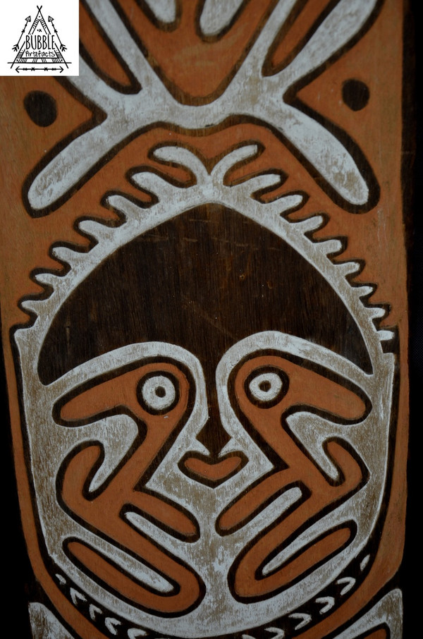 Stunning Fine Gope Board, Papuan Gulf